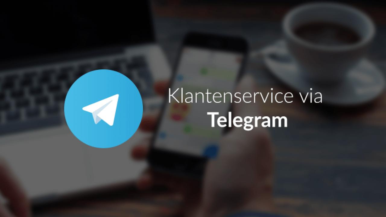 Klantenservice via Telegram