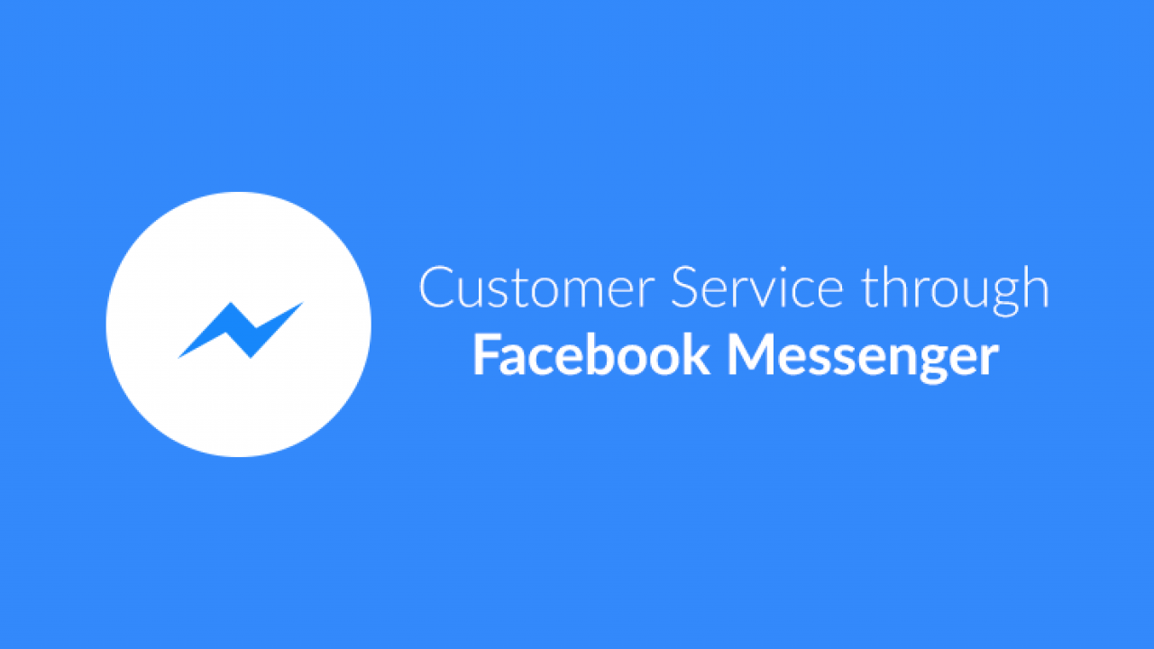 Customer Service through Facebook Messenger