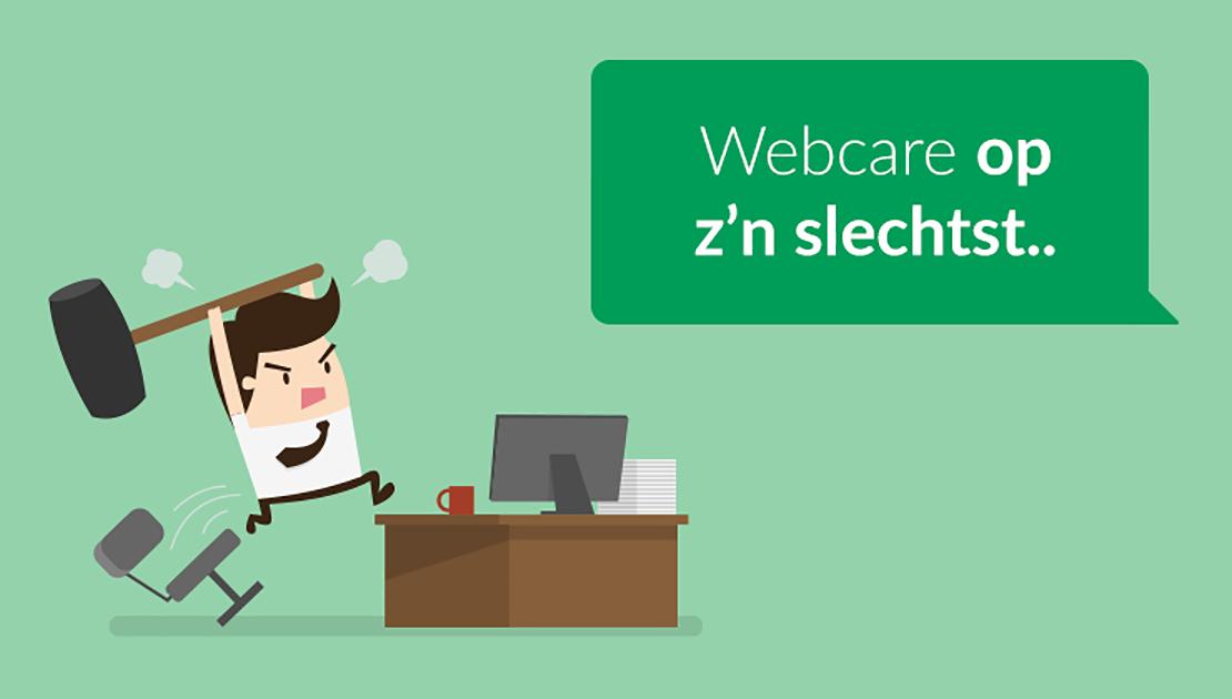 Webcare op z 39 n slechtst voorbeelden en tips voor je webcare for Klantenservice sanoma