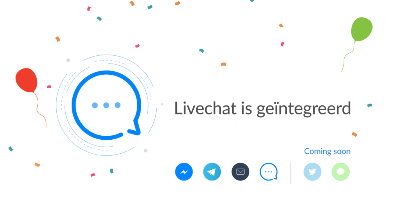 De Livechat van Watermelon: support op jouw website!