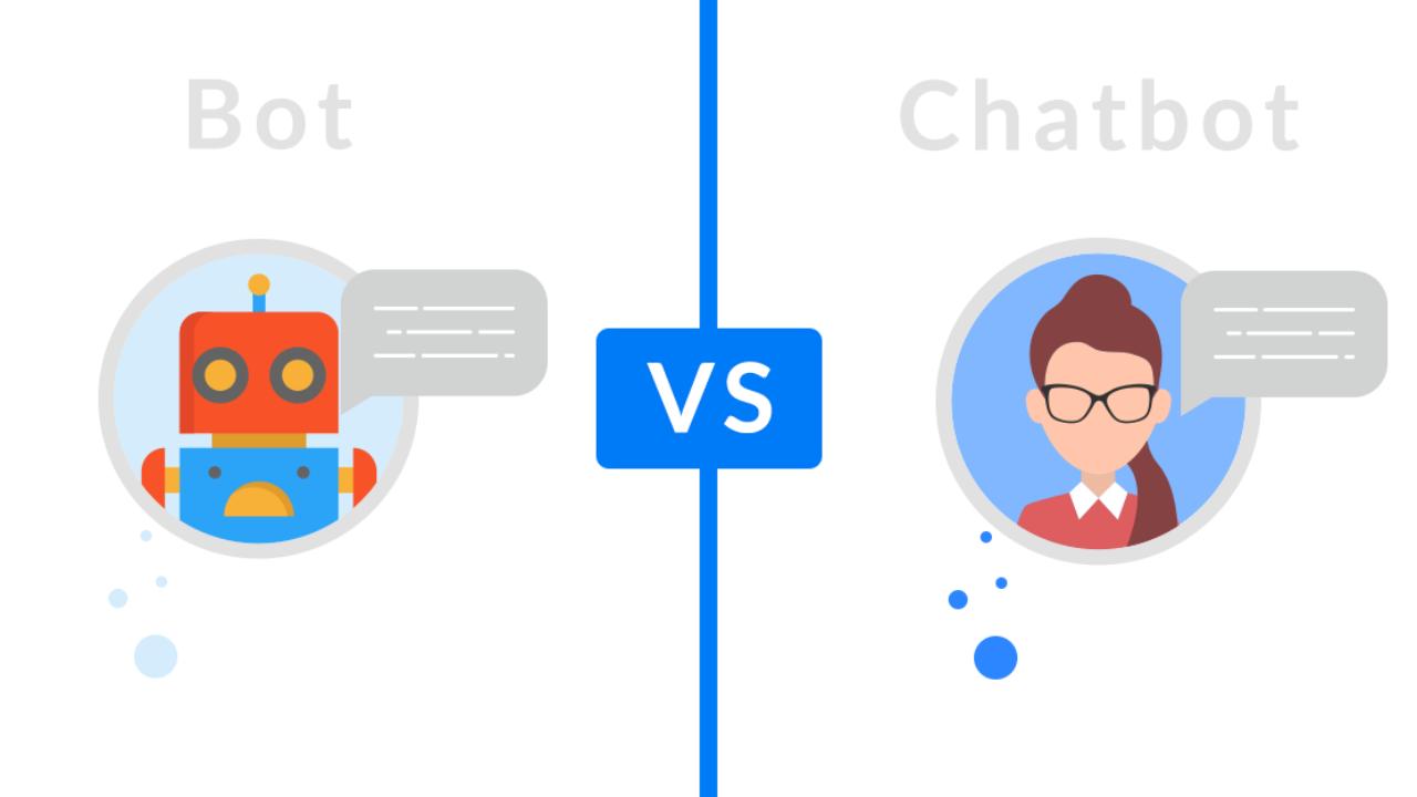 Verschil bot chatbot