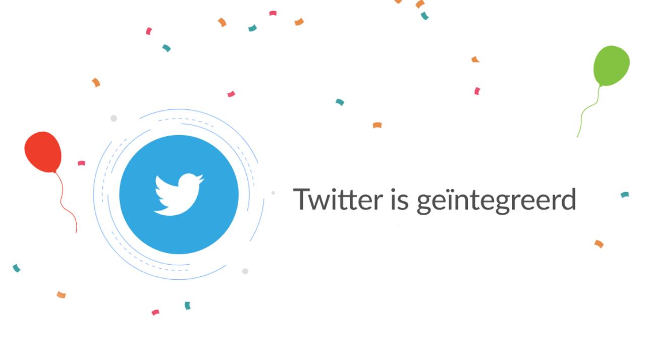 Twitter-integratie & andere nieuwe features in Watermelon