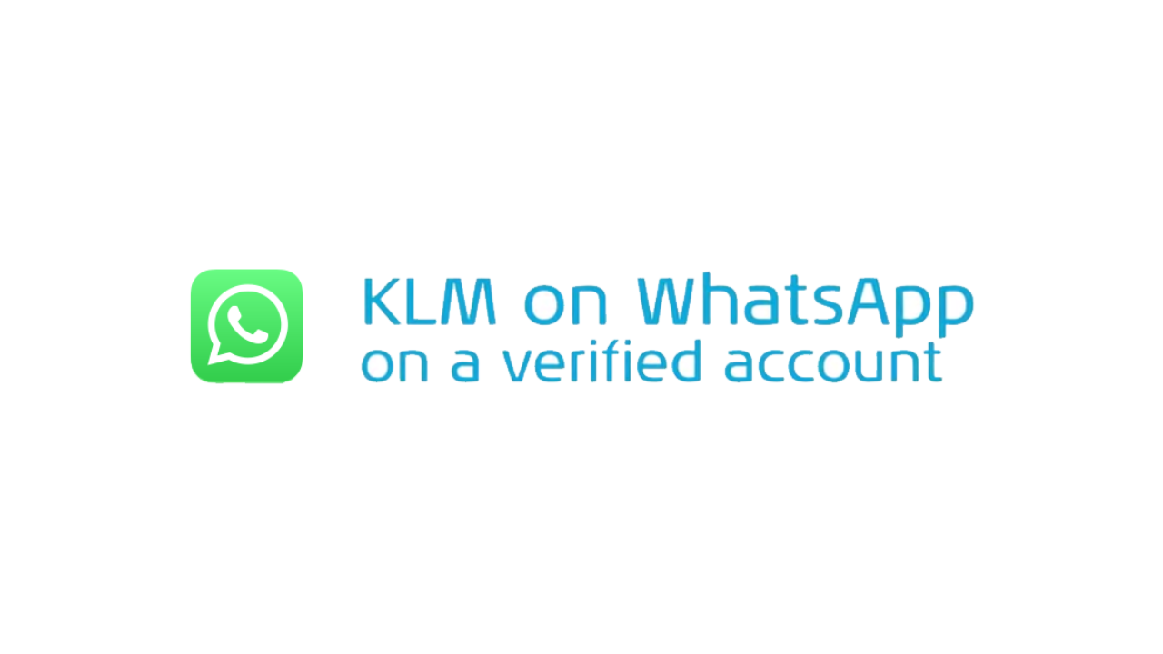 KLM op Whatsapp