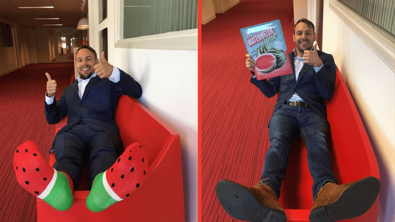 'Once a melon, always a melon': de groei van salesmanager Heiko
