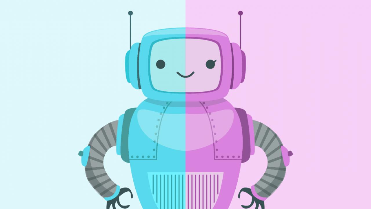 mannelijke of vrouwelijke chatbot