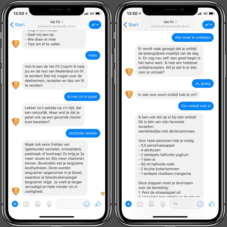 Vet Fit chatbot