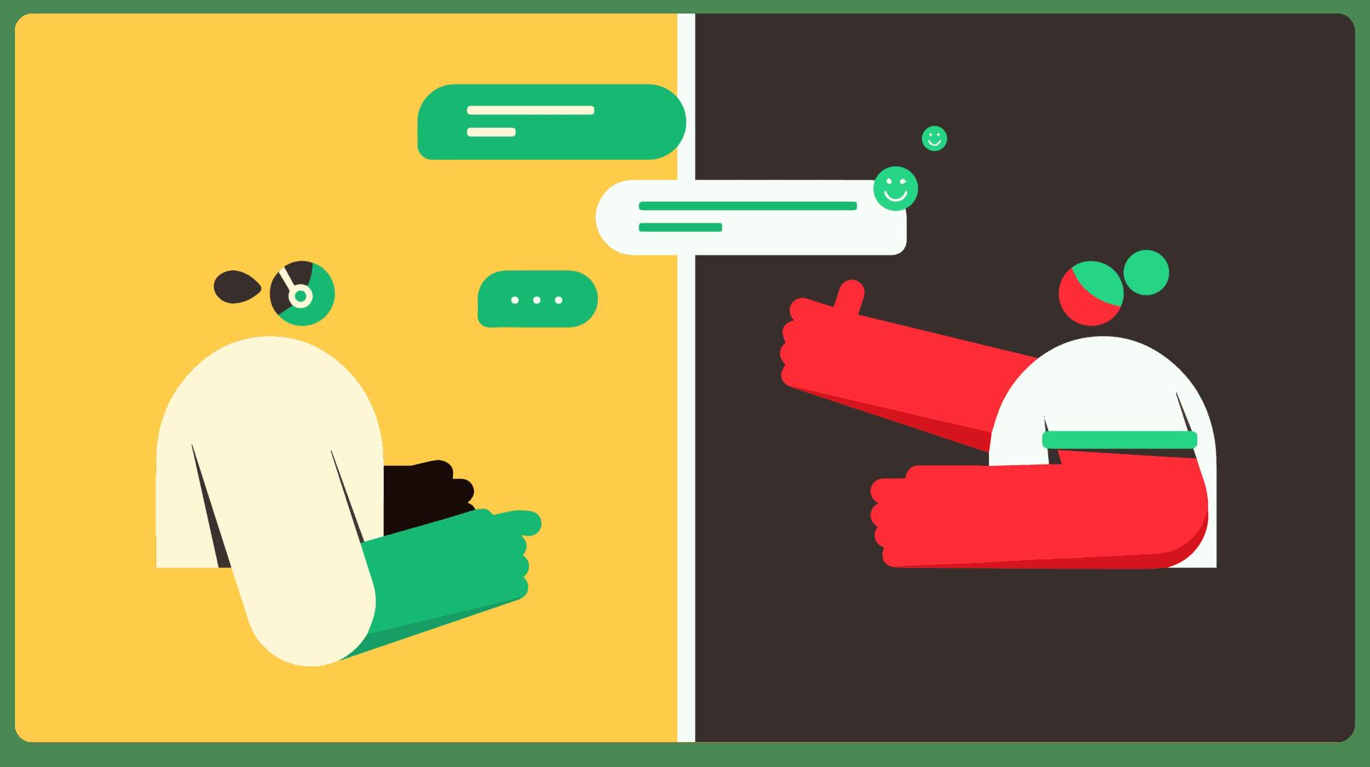 Klantenservice klant contact