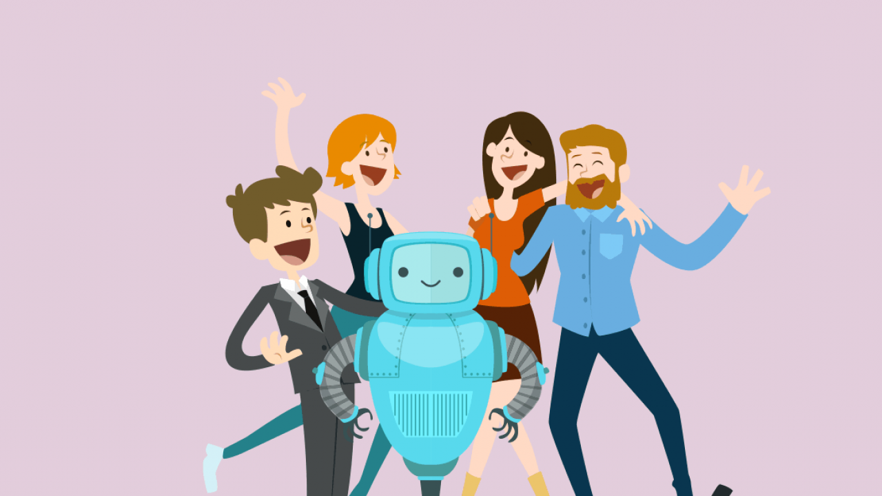 Zo laat je een chatbot menselijker lijken