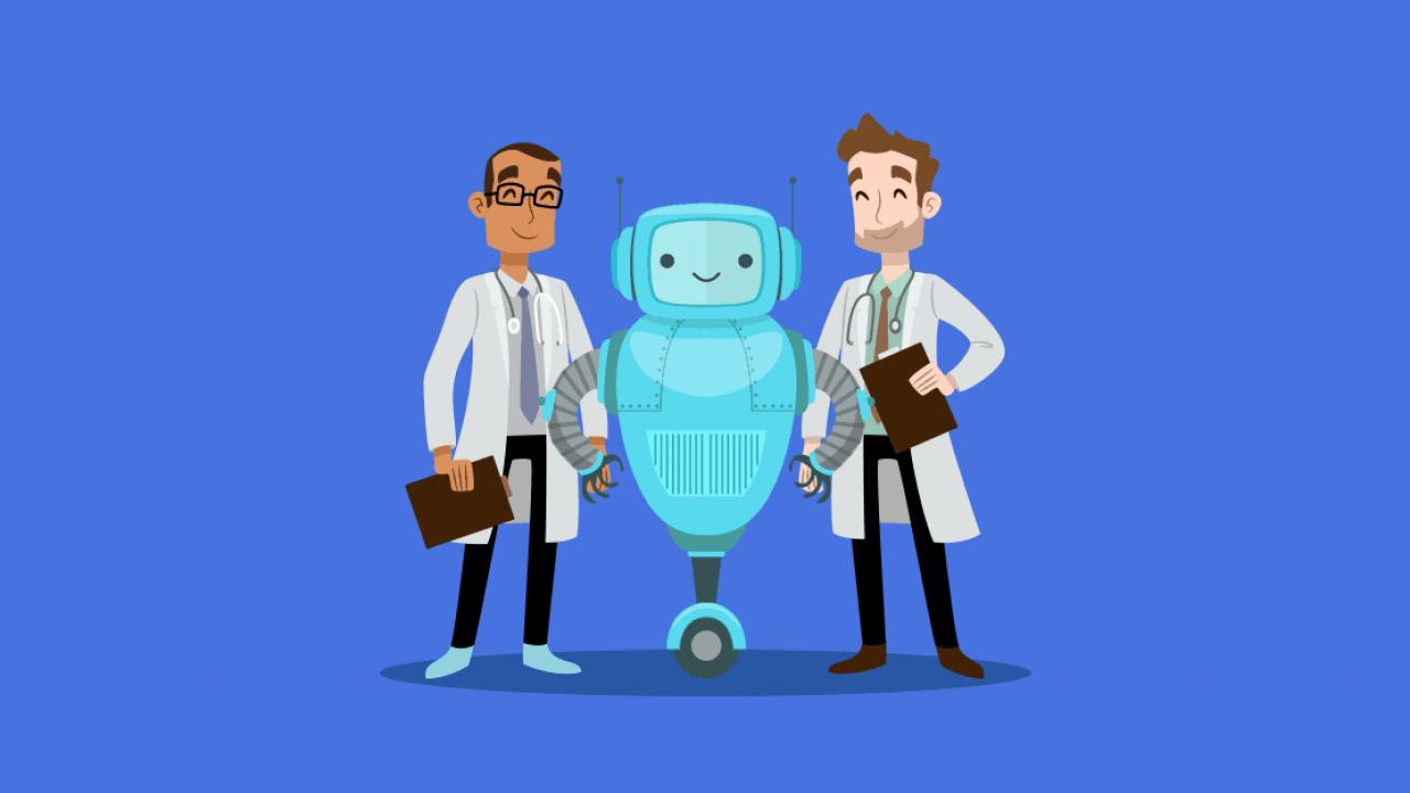 Dokter Robot: chatbots helpen medische professionals