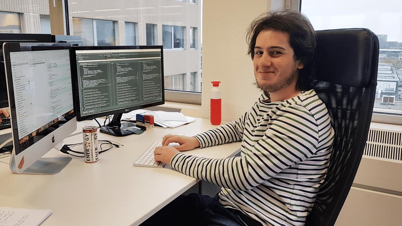 Op pad met Matthew – Hij zorgt voor de optimale gebruikerservaring
