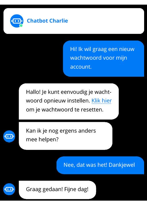 Chatbot-klantenservice