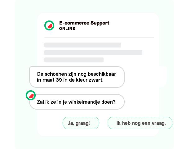 webshop conversie met chatbot