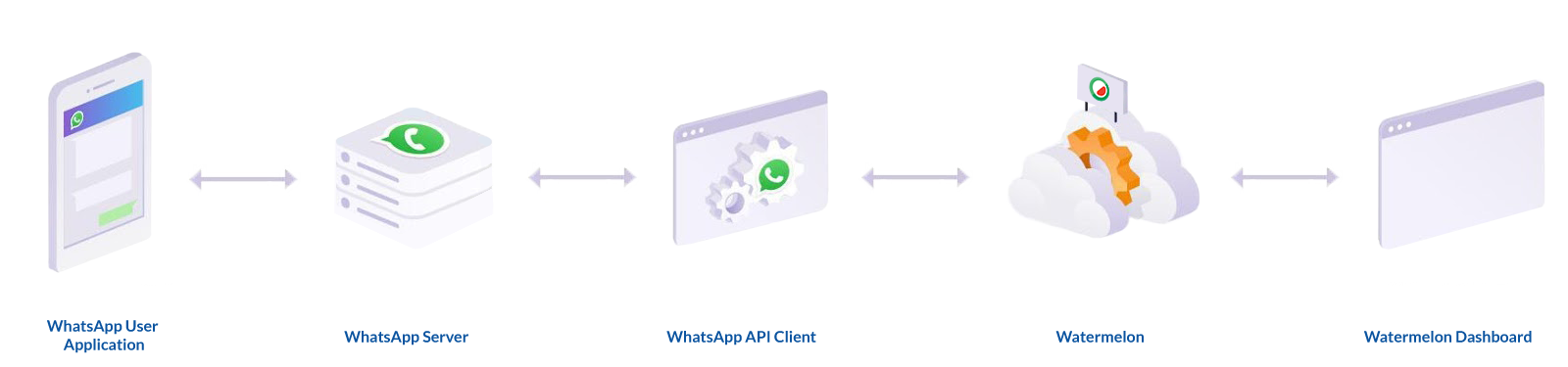 Whatsapp api server infrastructuur