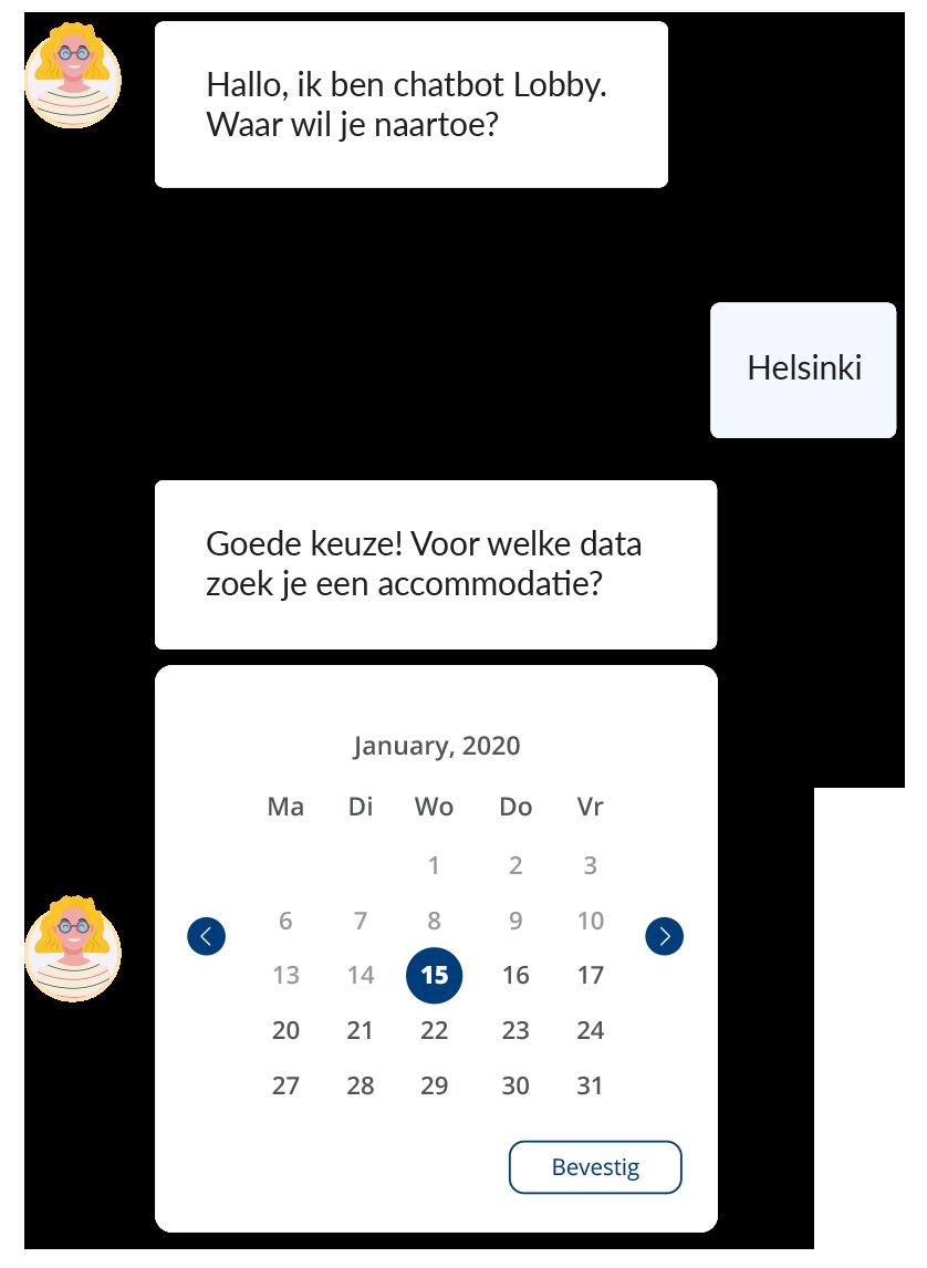 Chatbot-lobby-voorbeelden