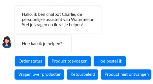 Chatbot op je websiteL