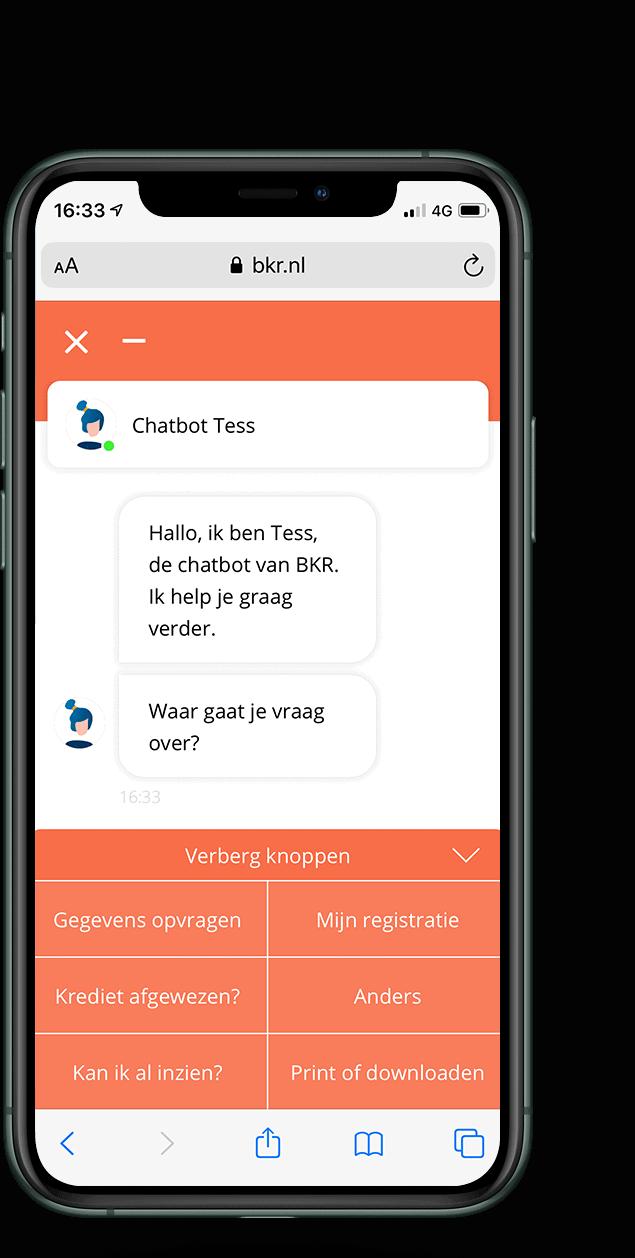 bkr chatbot
