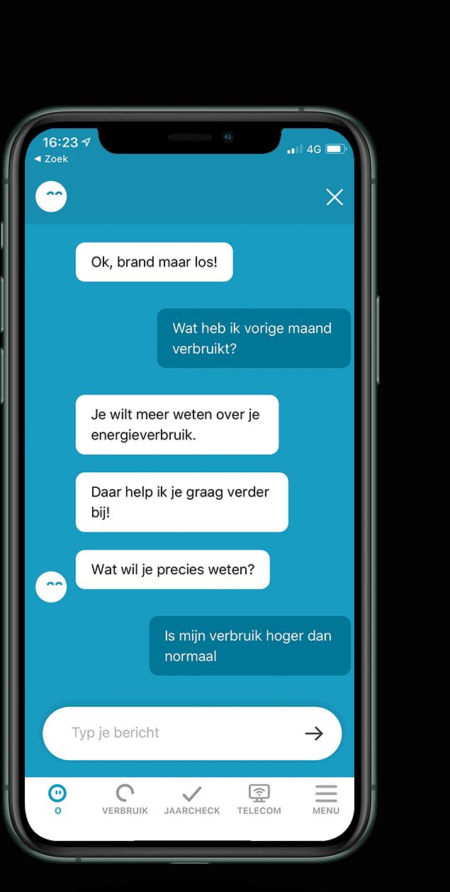 chatbot oxxio
