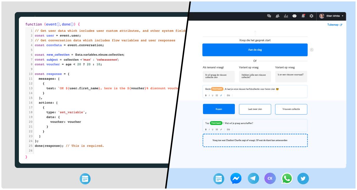 chatbot-platform-versus-programmeren