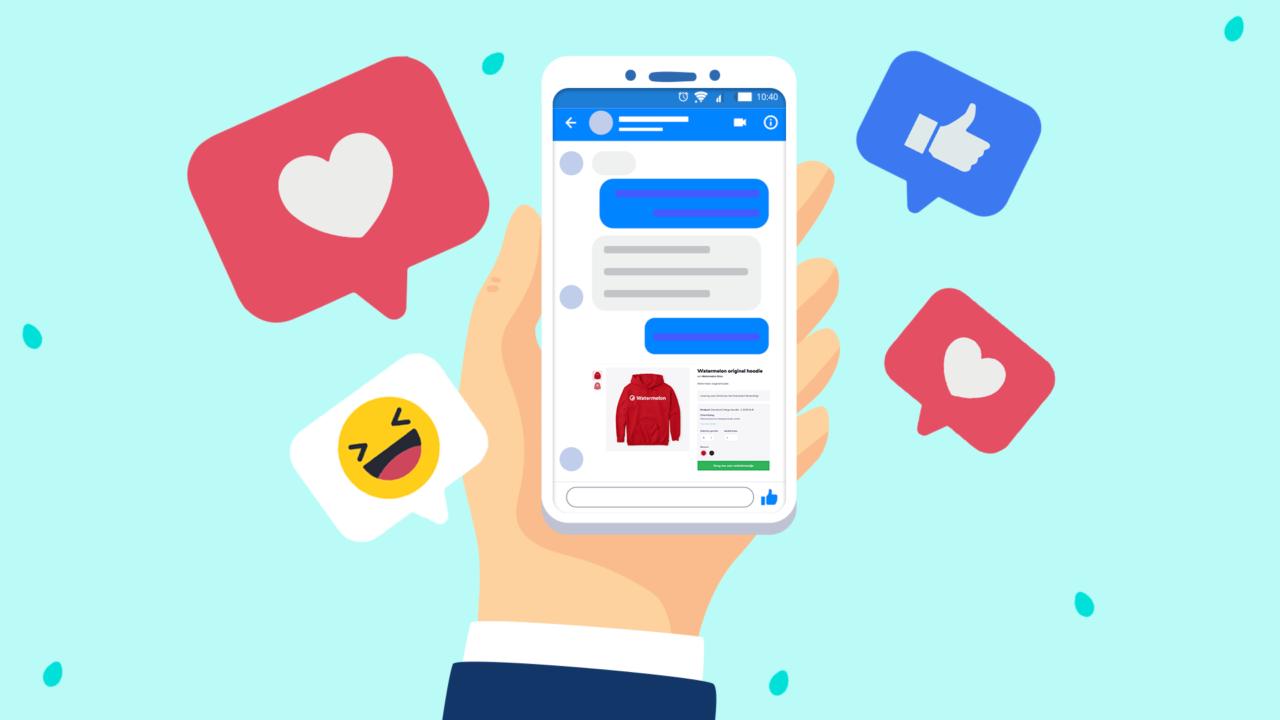 Een Facebook chatbot om je klanttevredenheid te verhogen