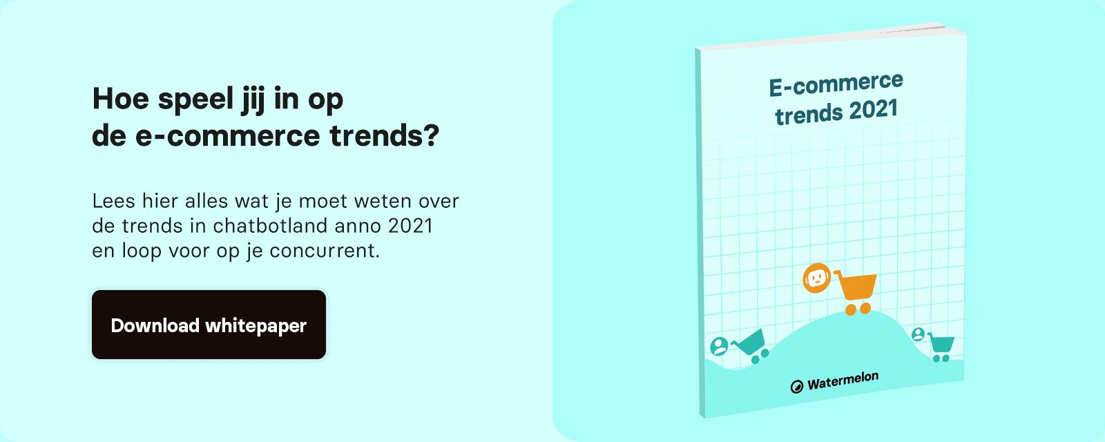 Whitepaper e-commerce trends 2021