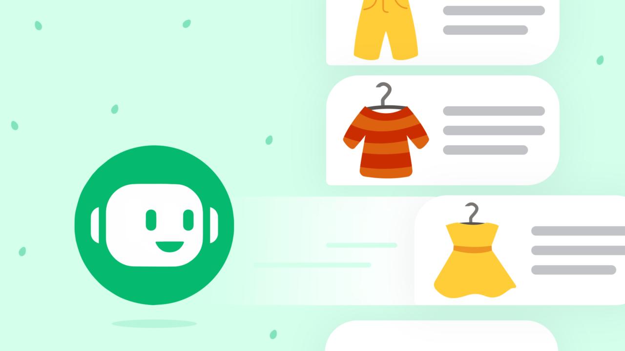 header chatbot verkopen
